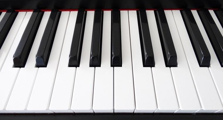 白黒の鍵盤